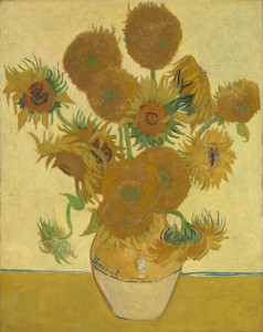 Vincent van Gogh, 1853 - 1890 Sunflowers 1888 Oil on canvas, 92.1 x 73 cm Bought, Courtauld Fund, 1924 NG3863 http://www.nationalgallery.org.uk/paintings/NG3863