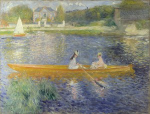 Pierre-Auguste Renoir, 1841 - 1919 The Skiff (La Yole) 1875 Oil on canvas, 71 x 92 cm Bought, 1982 NG6478 http://www.nationalgallery.org.uk/paintings/NG6478