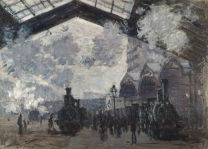 Claude Monet, 1840 - 1926 The Gare St-Lazare 1877 Oil on canvas, 54.3 x 73.6 cm Bought, 1982 NG6479 http://www.nationalgallery.org.uk/paintings/NG6479